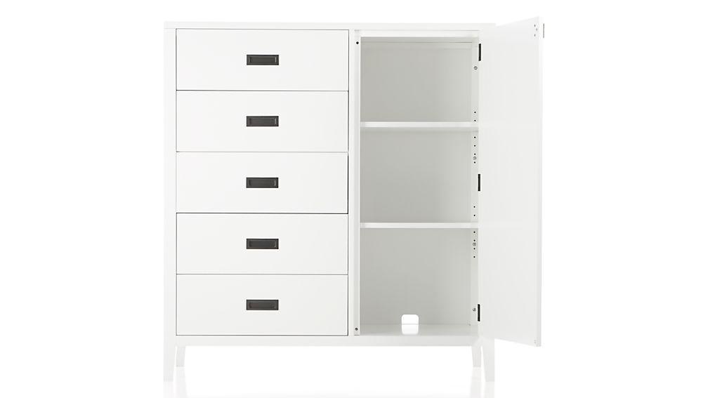Arch White Wardrobe