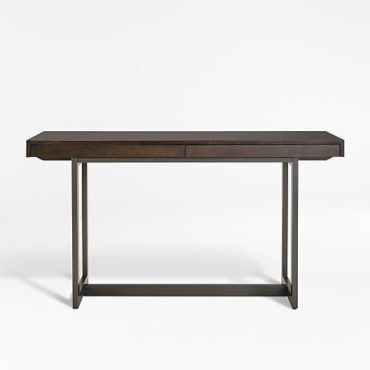 Archive Grey Console Table