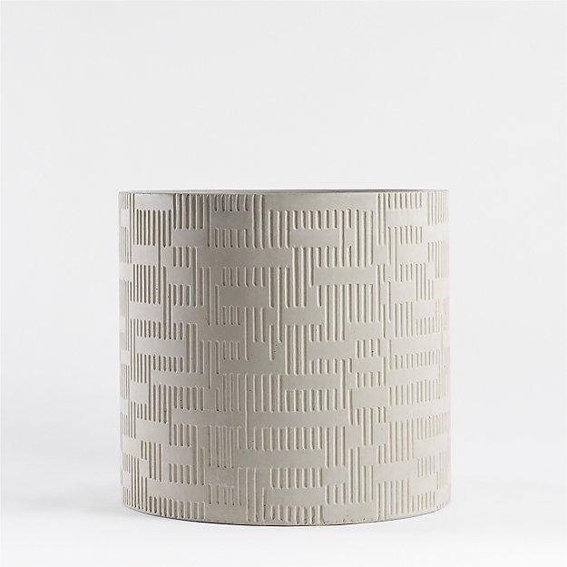 Argo Small Grey Planter - Image 1 of 6