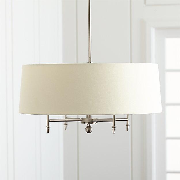Arlington nickel chandelier in pendant lighting reviews crate arlington nickel chandelier in pendant lighting reviews crate and barrel aloadofball Images