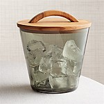 Arlo Smoke Glass Ice Bucket