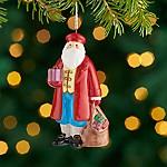 Around the World Italy Santa Ornament