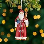 Around the World Norway Santa Ornament