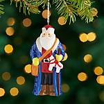 Around the World Sweden Santa Ornament