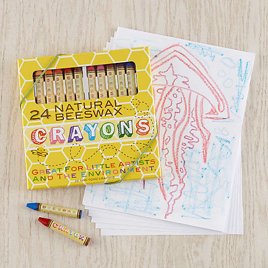 Ooly® Beeswax Crayons, Set of 24