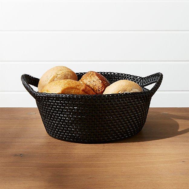 Artesia Black Basket