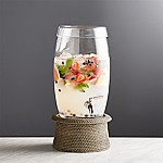 Oregon Glass Drink Dispenser with Artesia Grey Stand