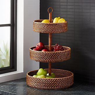 Artesia Honey 3 Tier Fruit Basket
