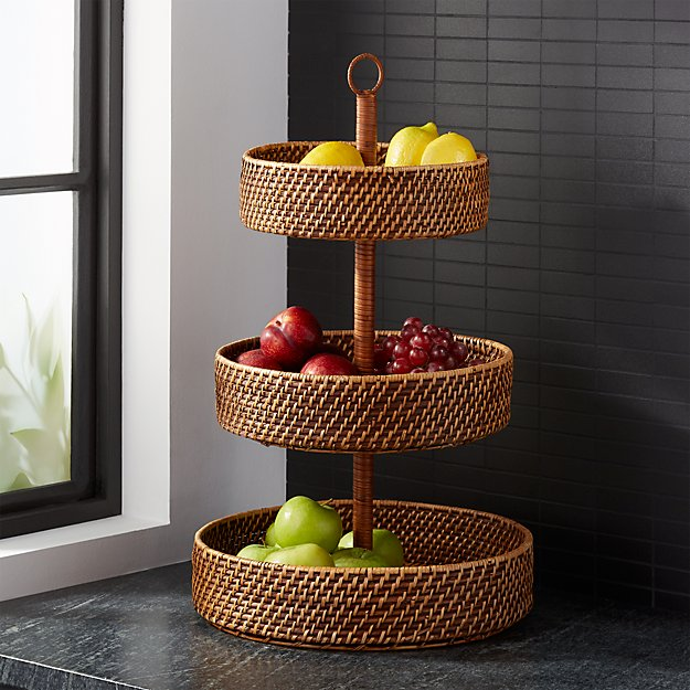 Artesia Honey 3-Tier Fruit Basket + Reviews