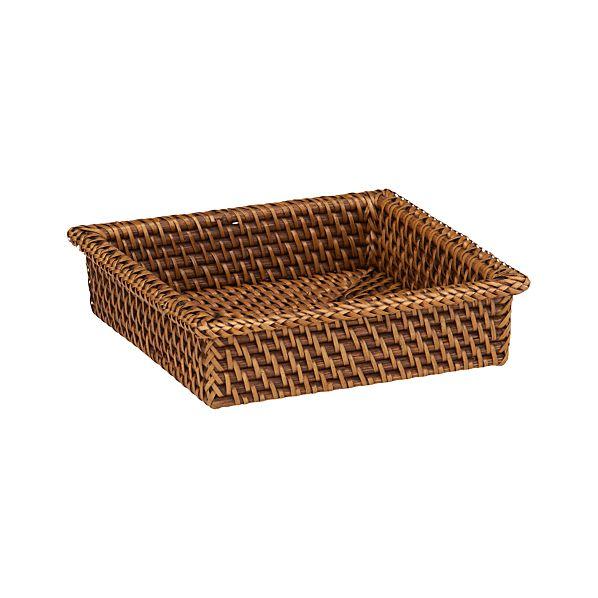 Artesia Cocktail Napkin Basket