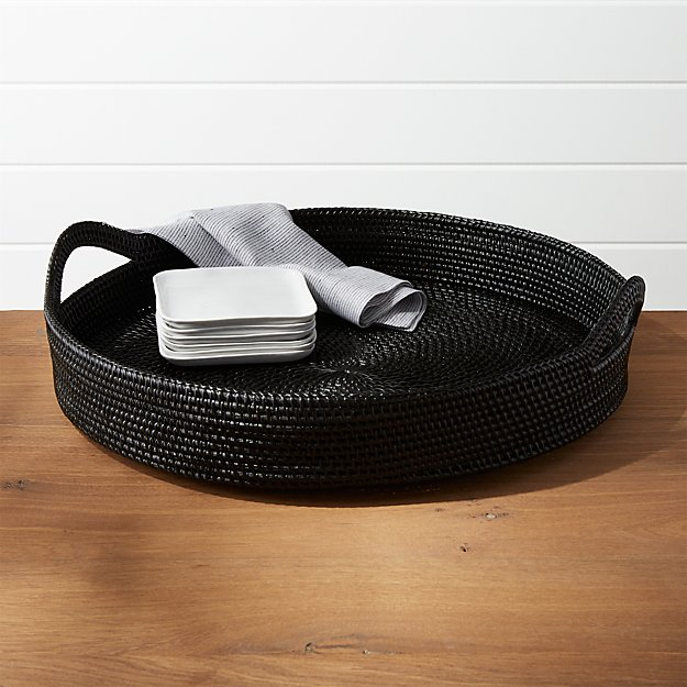 Artesia Black Tray