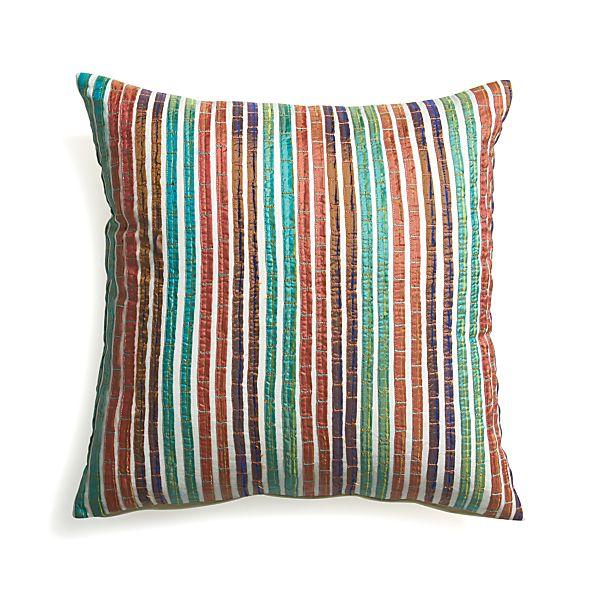 "Artie 18"" Pillow with Down-Alternative Insert"