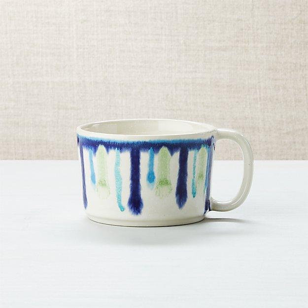Artist Blue And Green Mug