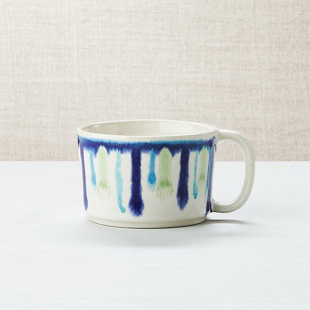 Artist Blue And Green Mug