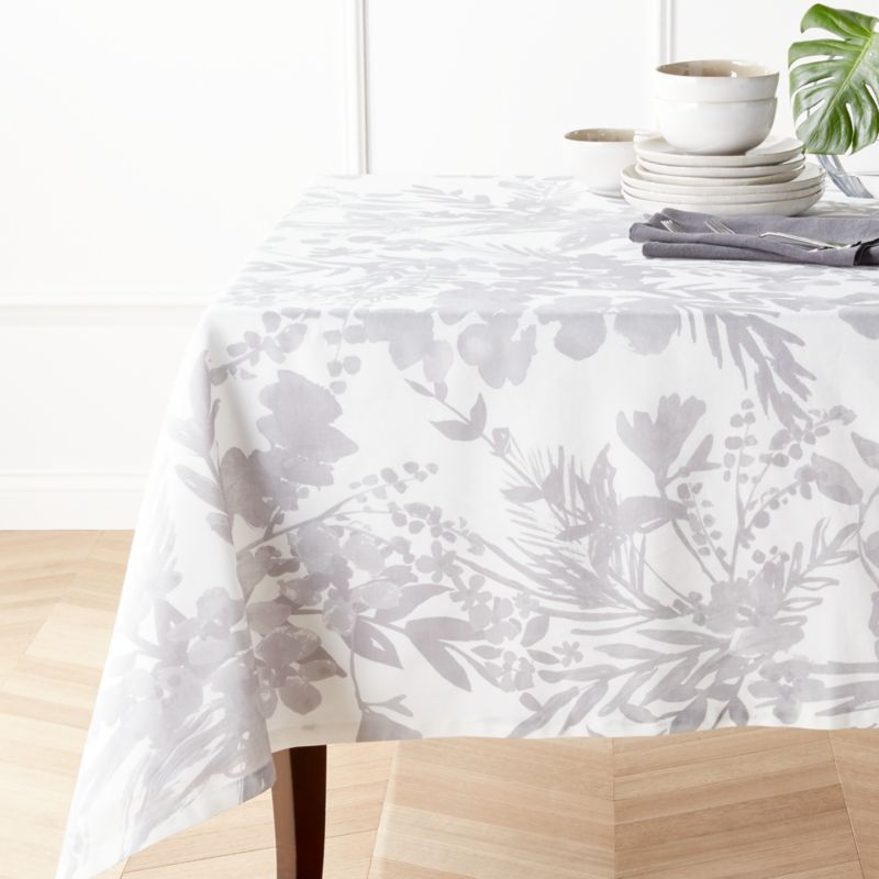 Artiste Grey Tablecloth