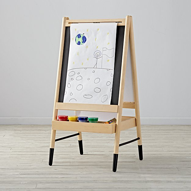 kids art easel reviews crate and barrel