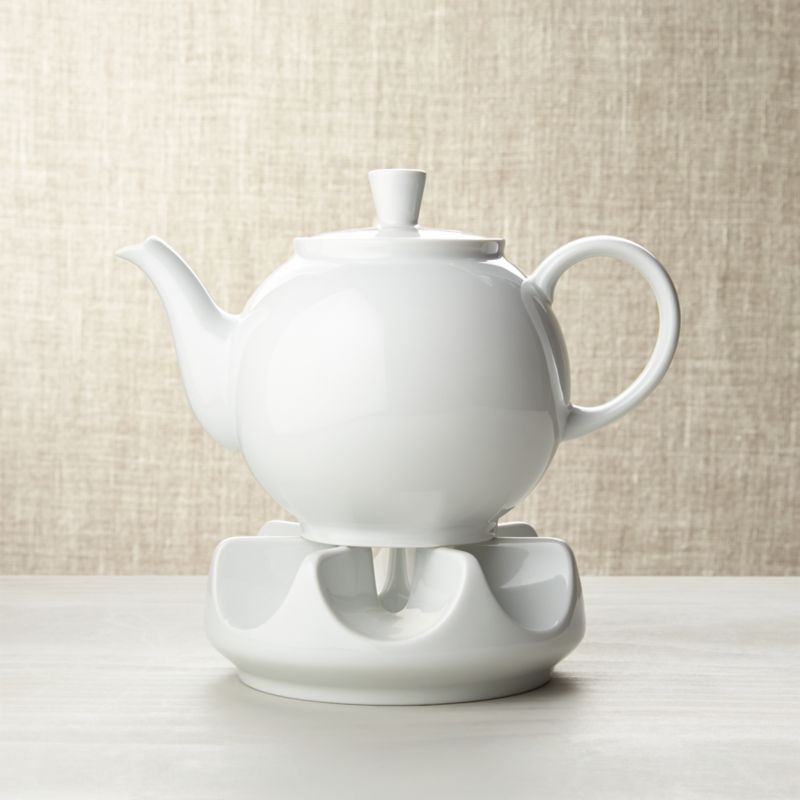 Arzberg Teapot With Warmer Crate And Barrel