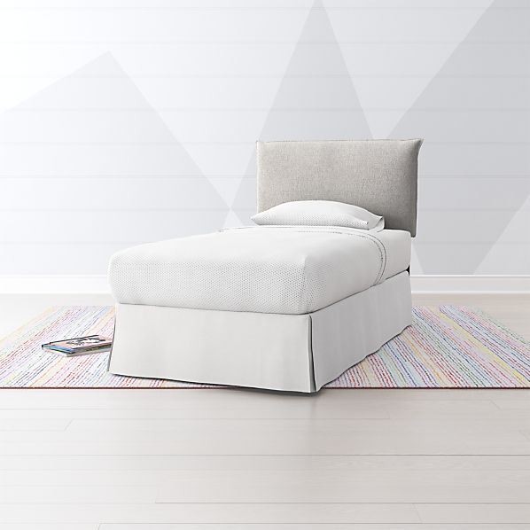 As You Wish Twin Upholstered Headboard Crate And Barrel