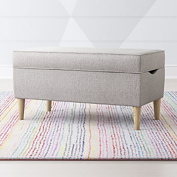 Incredible Make Cleanup Fun With Kids Toy Boxes Crate And Barrel Evergreenethics Interior Chair Design Evergreenethicsorg