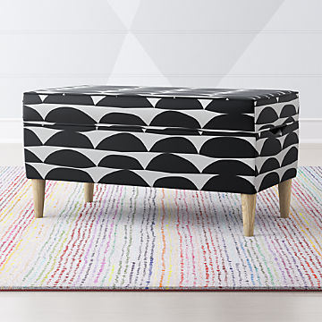 Superb Make Cleanup Fun With Kids Toy Boxes Crate And Barrel Machost Co Dining Chair Design Ideas Machostcouk