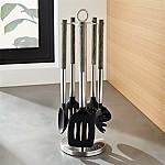 Schmidt Brothers ® Ash Wood 6-Piece Kitchen Tool Set