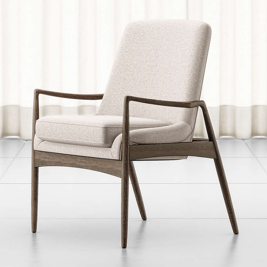 Ashton Midcentury Dining Arm Chair Reviews Crate And Barrel
