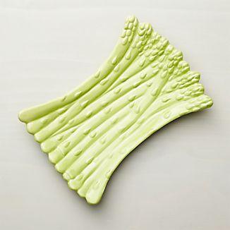 Asparagus Serving Platter