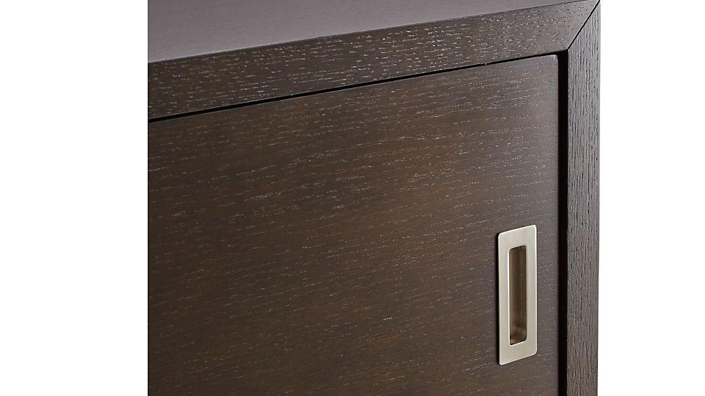 "Aspect Coffee 47.5"" Modular Sliding Door Storage Unit"