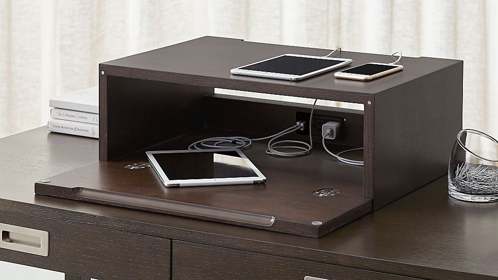 Computer Desk With Charging Station Home Design Ideas