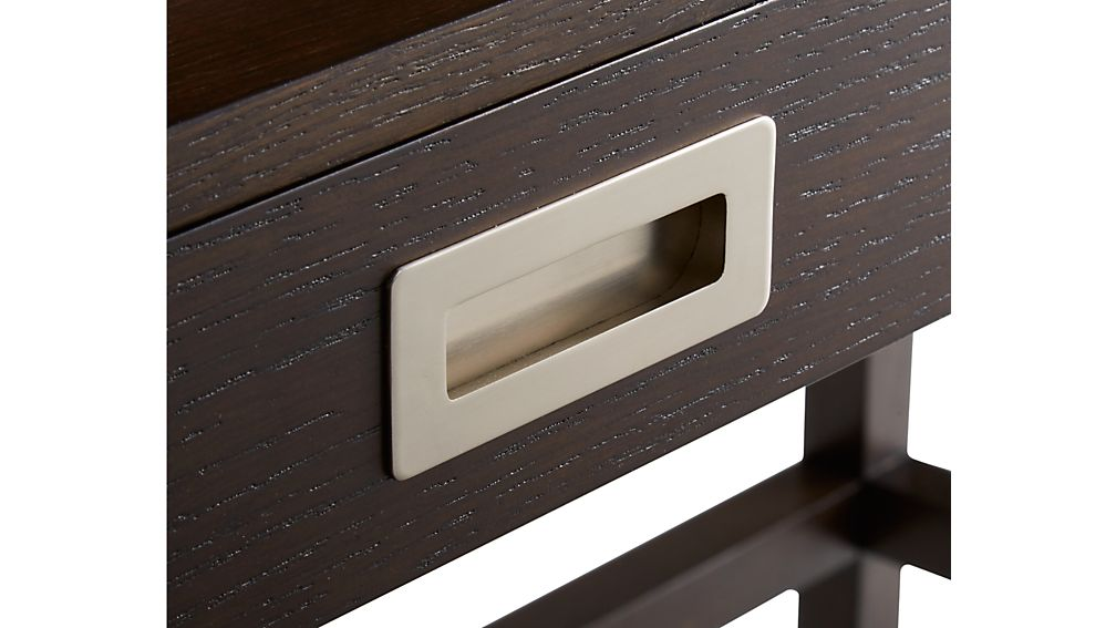 Aspect Coffee Modular Desk with Hutch