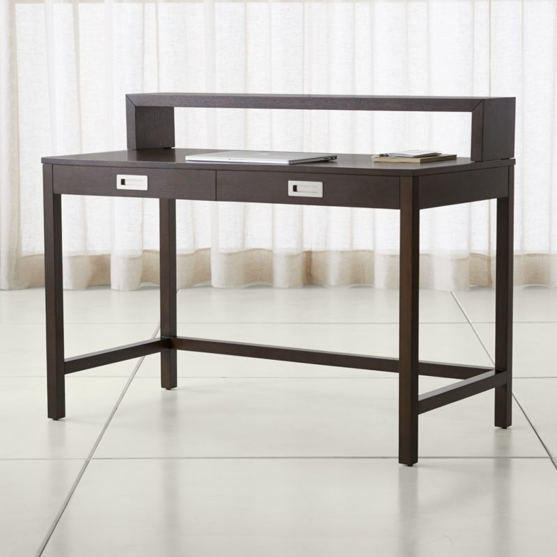 Aspect Coffee Modular Desk With Hutch