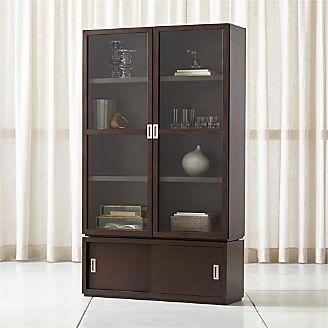 Aspect Coffee 3 Piece Gl Door Storage Unit