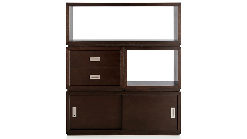 "Aspect Coffee 23.75"" Modular 2-Drawer Storage Unit"