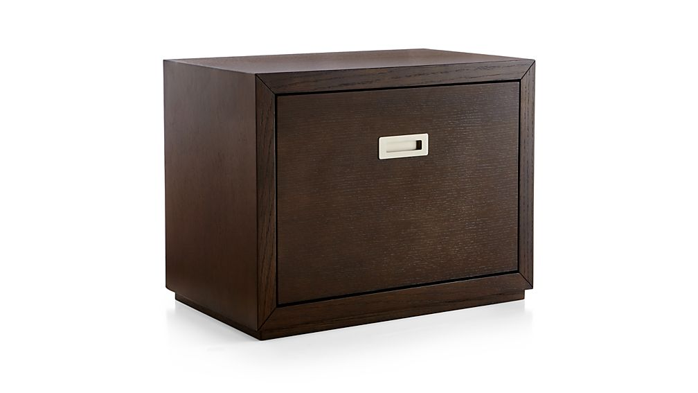 "Aspect Coffee 23.75"" Modular Low File Cabinet"