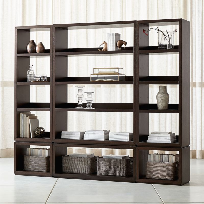 Top Bookcases: Wood, Metal and Glass | Crate and Barrel UH01
