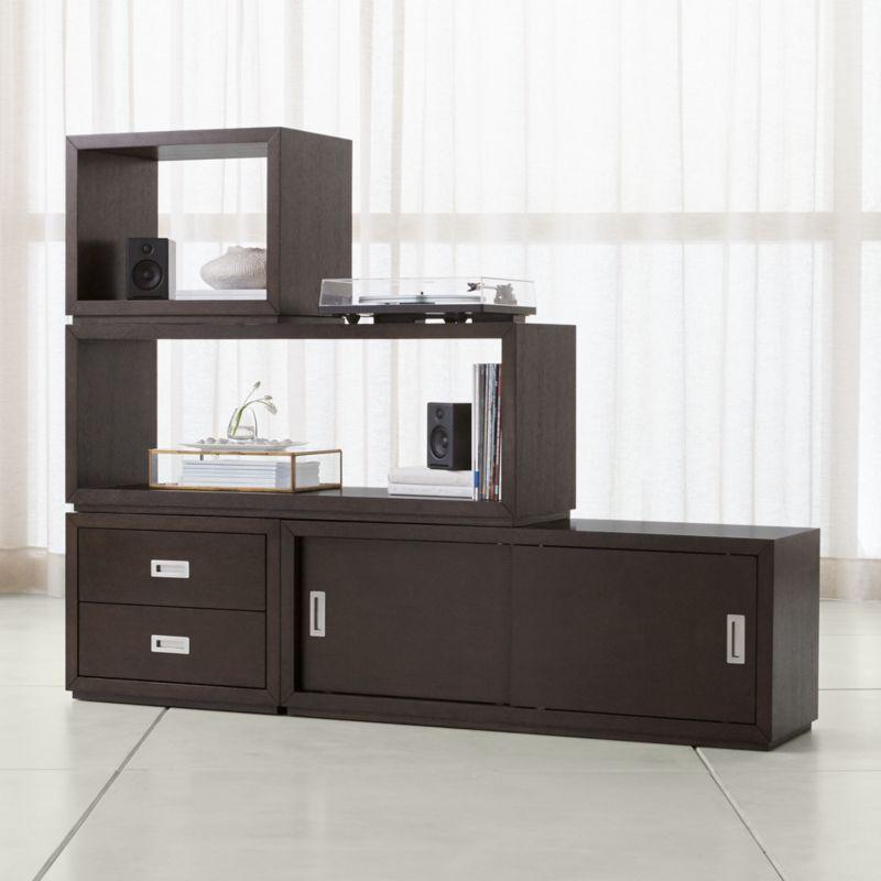 Aspect Coffee 4 Piece Large Modular Storage Set