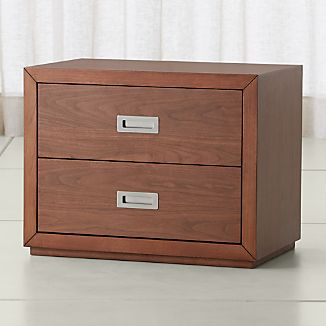"Aspect Walnut 23"" Modular 2-Drawer Unit"
