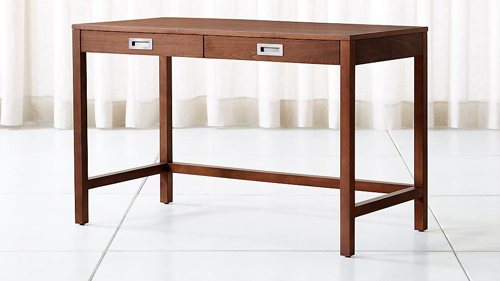 Aspect Walnut Desk Reviews Crate And Barrel