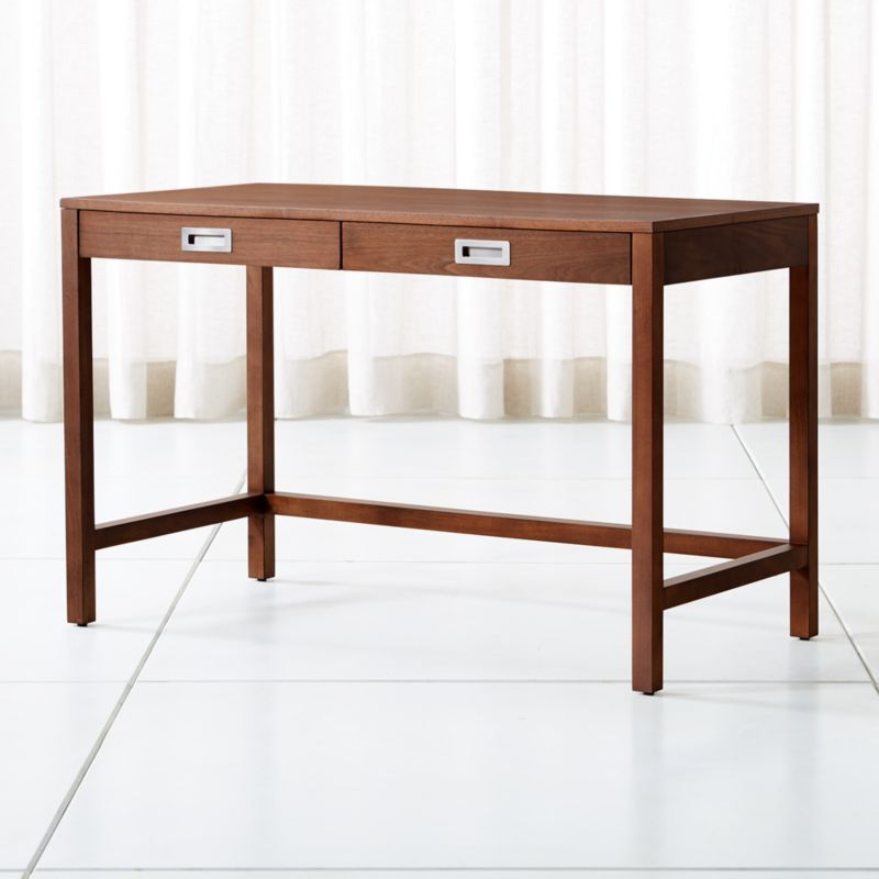 Aspect Walnut Desk Reviews Crate And Barrel