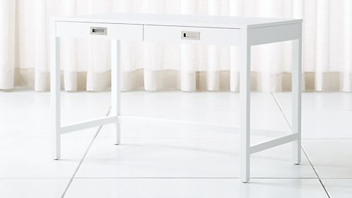 Aspect White Desk