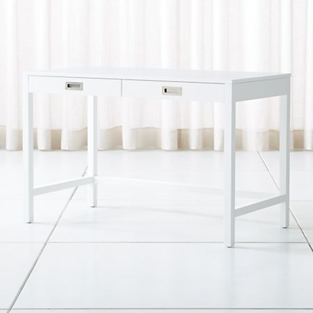 Aspect White Desk