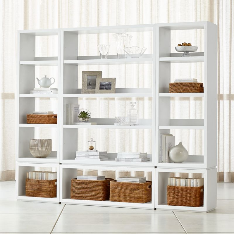 Living Room Storage Crate and Barrel