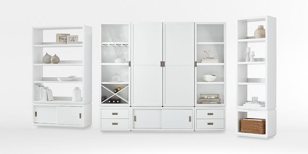 Aspect White Modular Storage Collection