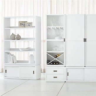 Aspect White Modular Storage Collection