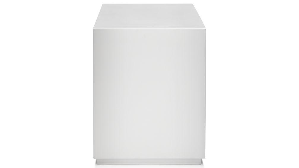 "Aspect White 23.75"" Modular Open Storage Unit"
