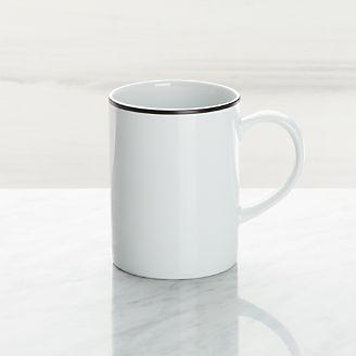 Aspen Black Band Mug