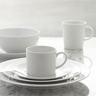 Aspen Dinnerware & Commercial Dinnerware u0026 Glassware | Crate and Barrel