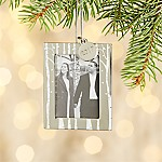 Aspen Ornament Frame with 2017 Charm