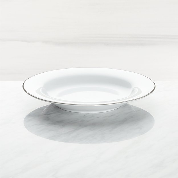 Aspen Grey Band Low Bowl - Image 1 of 3