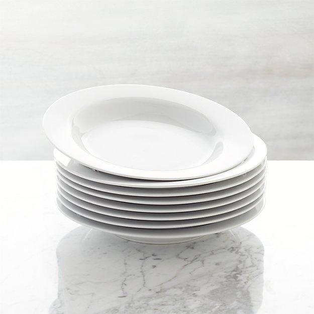 Set of 8 Aspen Low Bowls - Image 1 of 2